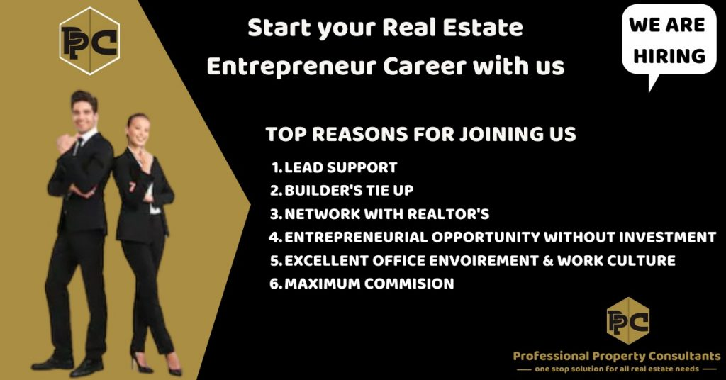Start your Real Estate Entrepreneur Career with us