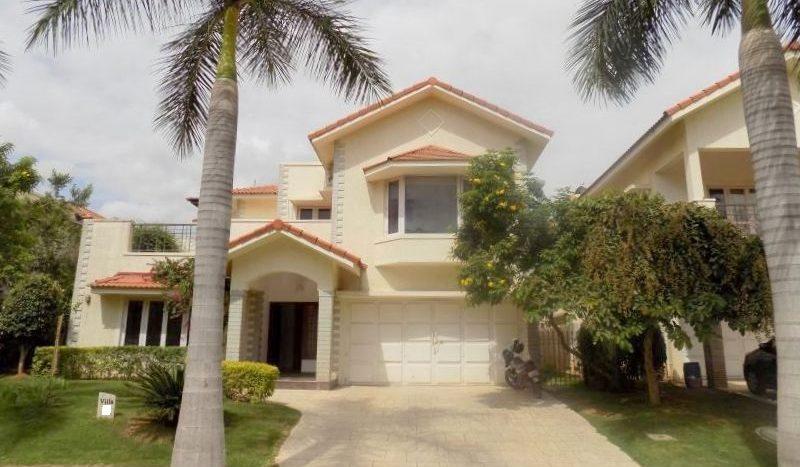 4bhk Villa for sale in Adarsh Palm Retreat Bellandur-Villas