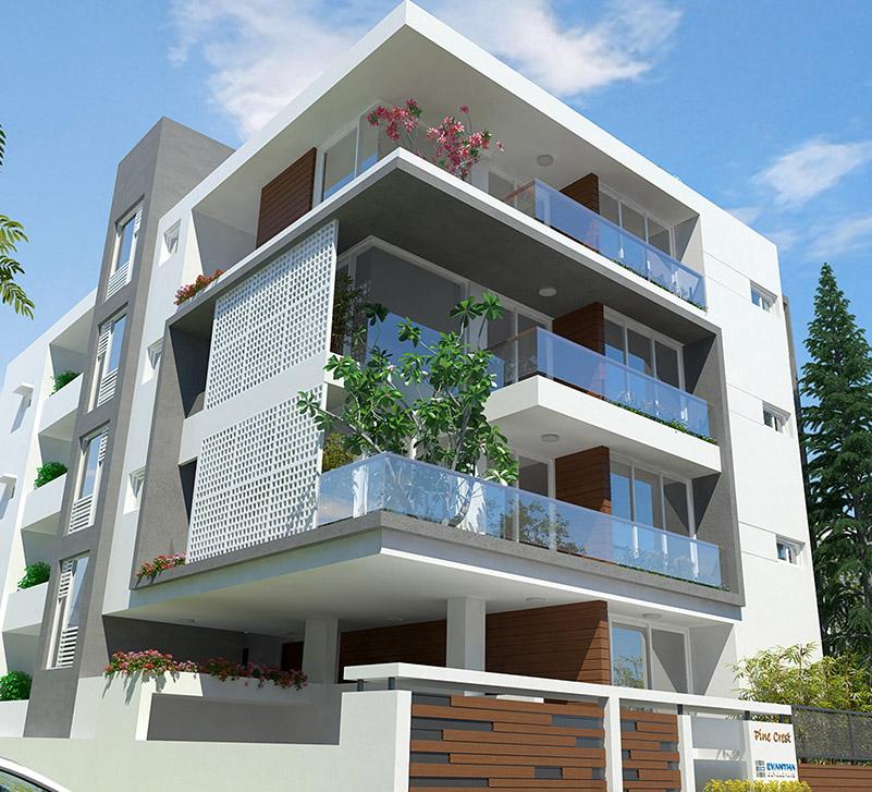 3bhk flat for sale in Evantha Pinecrest Koramangala-Luxury